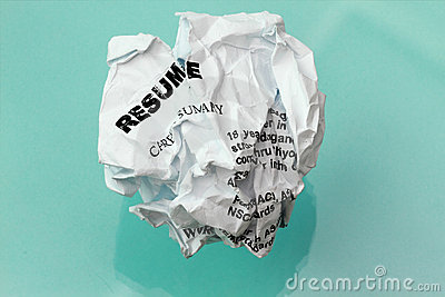 Resumecrumpled